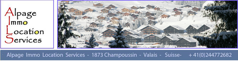 Champoussin hiver